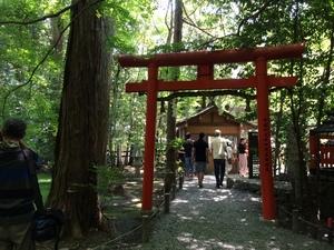 嵐山の竹林の小径3