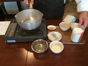 名古屋の杏ZUの薬膳料理教室1