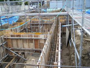 愛知県稲沢市のマンションの配筋検査4