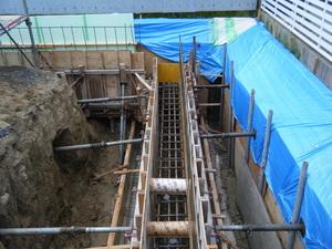 愛知県稲沢市のマンションの配筋検査3