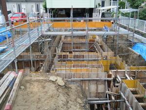 愛知県稲沢市のマンションの配筋検査10