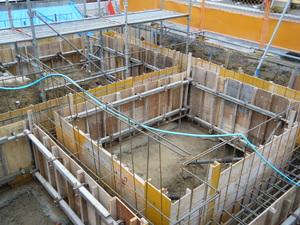 愛知県稲沢市のマンションの配筋検査9