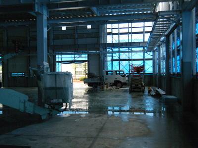 愛知県小牧市の工場建替え、屋根工事