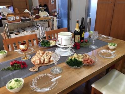 クリスマスのテーブルコーディネート、愛知県、建築設計事務所