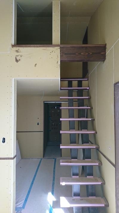 一宮市の共同住宅 内部下地確認