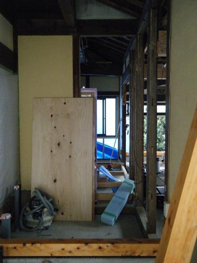 江南市内、リフォーム、家、耐震補強