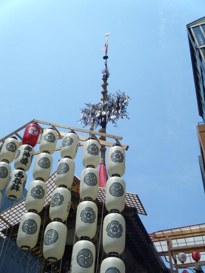 京都の祇園祭 宵山