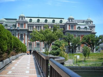 大阪の淀屋橋周辺、建築