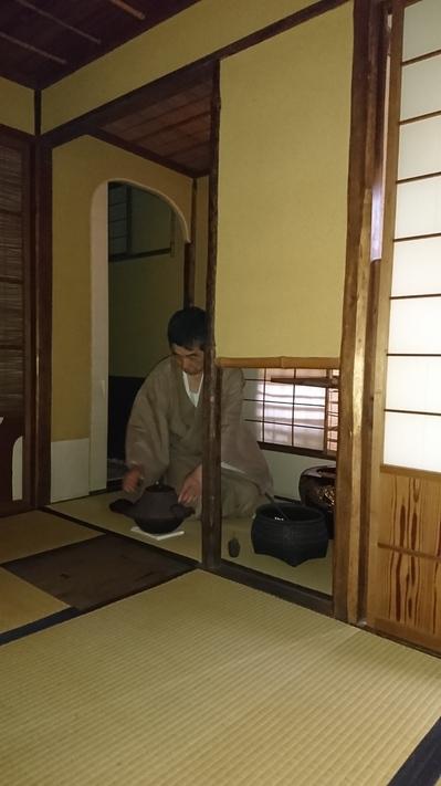 夏の朝茶事、名古屋