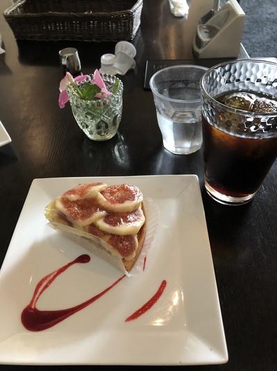 彦根市、ポム・ダムール、彦根城近く、パンカフェ、ケーキが美味しい、雰囲気がいい