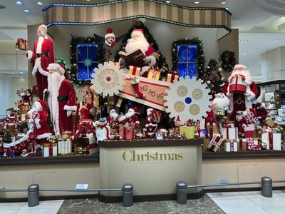 名古屋駅のクリスマスイルミネーション 2018 高島屋 HO HO HO