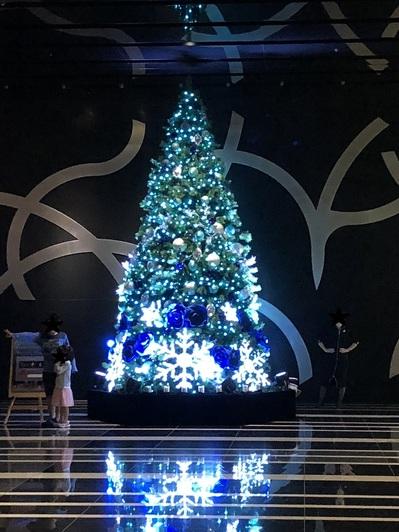 名古屋駅のクリスマスイルミネーション 2018 ルーセントタワー