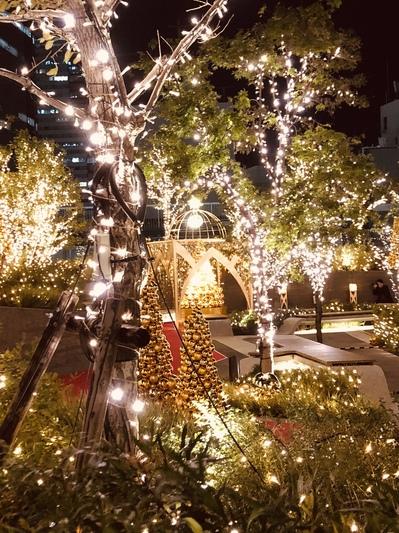 名古屋駅のクリスマスイルミネーション 2018 大名古屋ビルヂング スカイガーデン