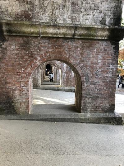 南禅寺 紅葉 京都 水道橋