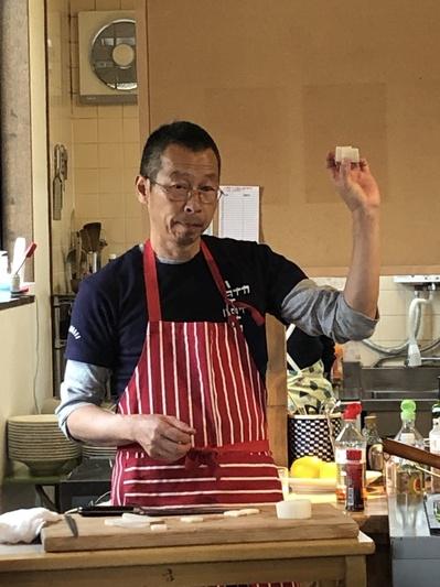 三好の田中稔先生の旬野菜のお料理教室