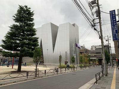 すみだ北斎美術館 東京 両国 設計 妹島和世
