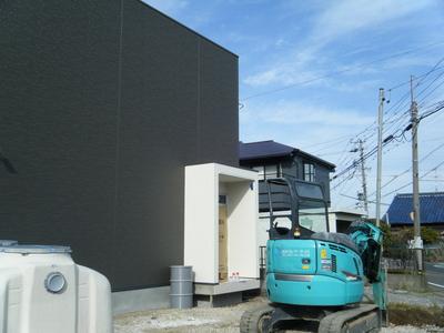 江南市 社会保険労務士事務所 建築設計 完成前