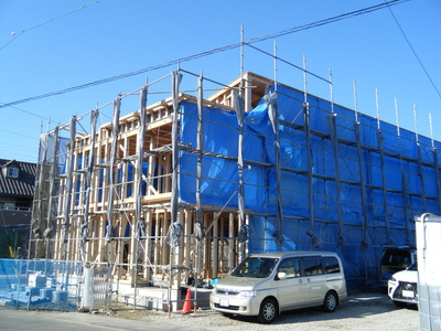 一宮市 社会福祉法人 独身専用社宅 建築現場 建築設計
