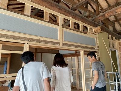 江南市 建築設計 暮石建築事務所 リノベーション見学 終の棲家