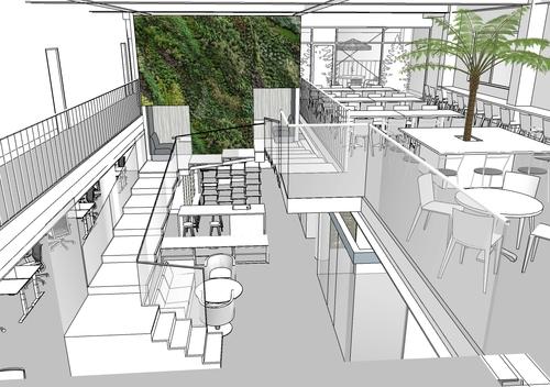 小牧市内 ライン工業 ワークプレイスデザインプロジェクト オフィス 工場