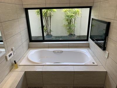 名古屋市瑞穂区、リフォーム、2世帯住宅、テレビ付きバスルーム、水廻り